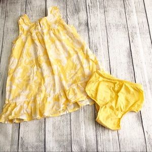Baby Gap Yellow Dress